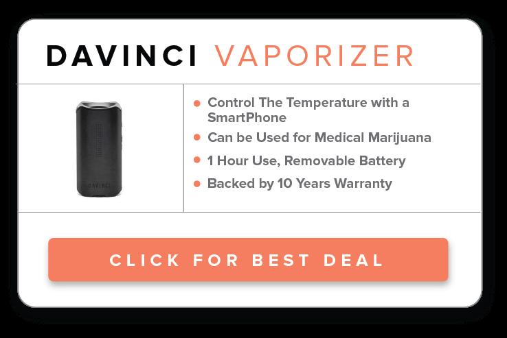 davinci dry herb vaporizer