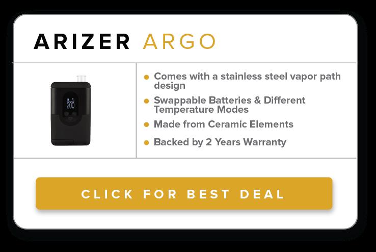Arizer Argo Dry Herb Vaporizer